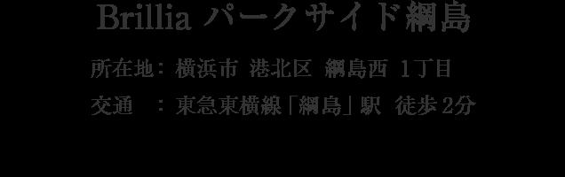 神奈川県横浜市港北区綱島西1丁目・「綱島」駅 徒歩2分