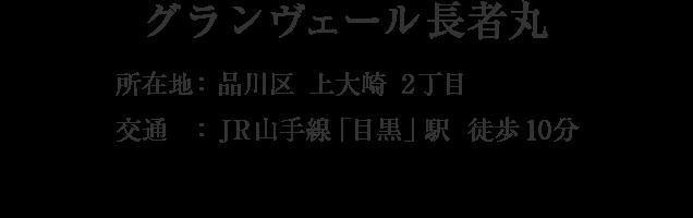 東京都品川区上大崎2丁目・「目黒」駅 徒歩10分