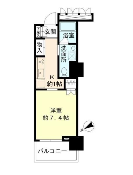 豊洲シエルタワーの外観図