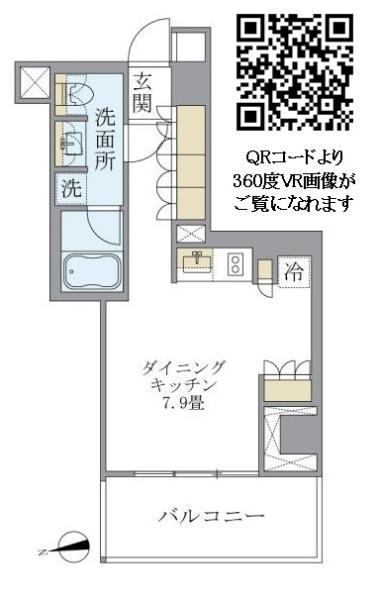 アパートメンツ南麻布IIの外観図