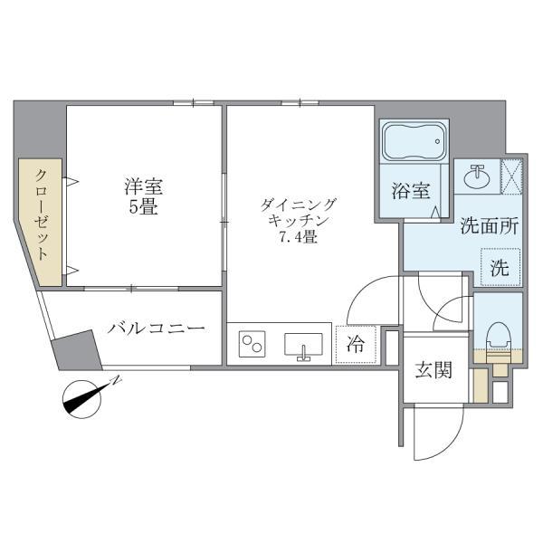 KDXレジデンス元浅草の外観図