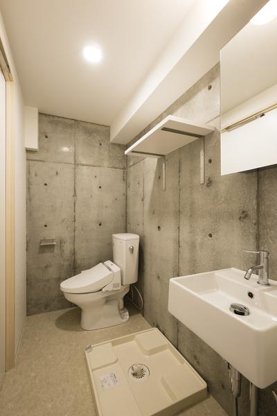室内 トイレ・洗面(竣工時)