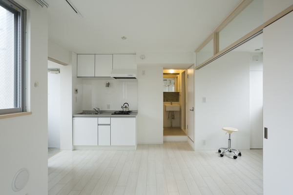 室内リビング・キッチン(竣工時)