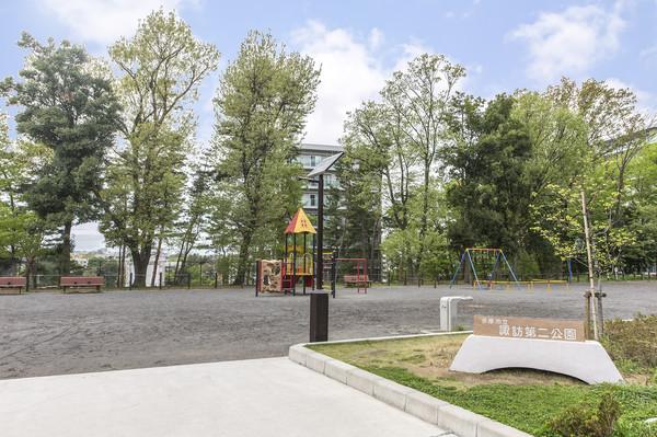 ●敷地内公園