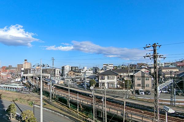 バルコニーからの眺望 ☆平成31年1月撮影☆
