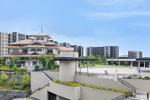 バルコニーからの眺望 貴賓館