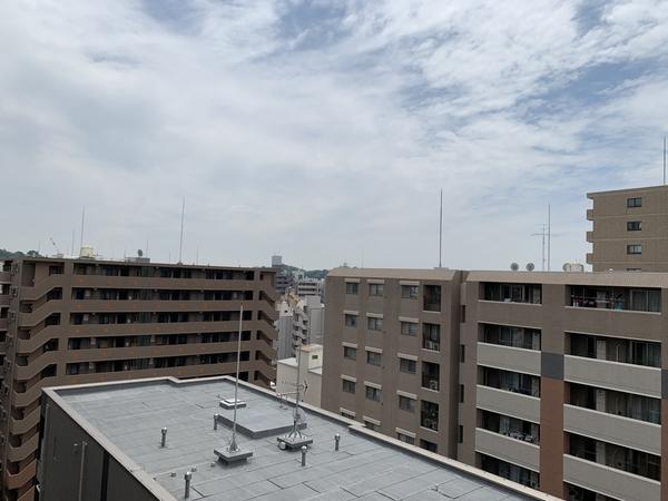 居室からの眺望(2021年6月撮影)