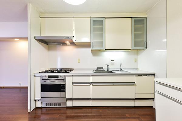 キッチン お料理もしやすくなっております。【食洗器付き】