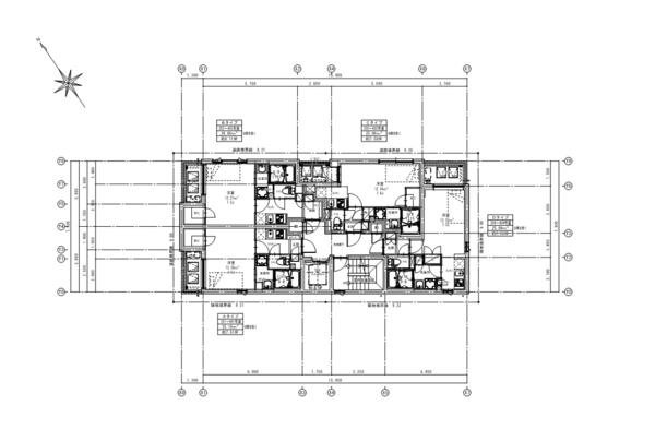 間取り図(2~4階)