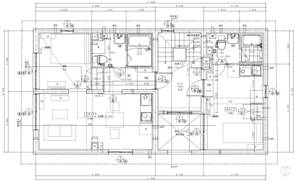 間取り図 3~4階