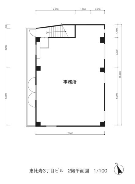 間取り図 2階