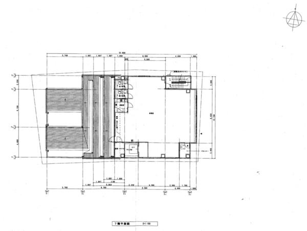 間取り図 7階