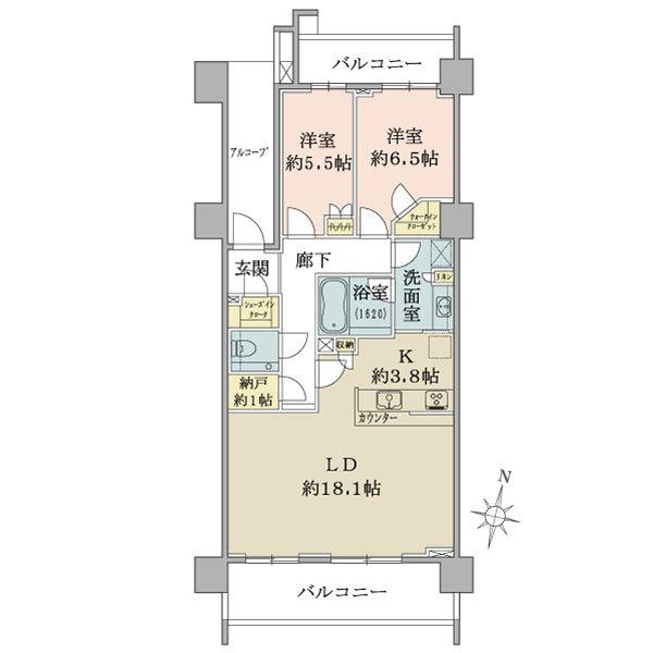 【建物外観図】 井の頭線「久我山」駅徒歩8分