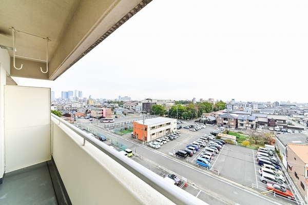 6階からの南側眺望