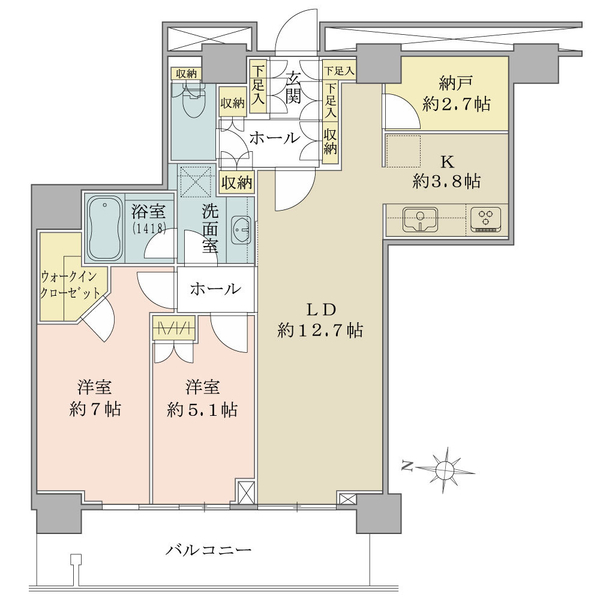 リエトコート武蔵小杉ザ・クラッシィタワー
