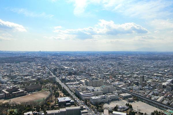 高層階ならではの眺望をお楽しみ頂けます。