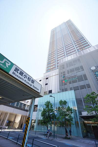 3駅9路線利用可能!駅一体型超高層タワーレジデンス「エクラスタワー武蔵小杉」
