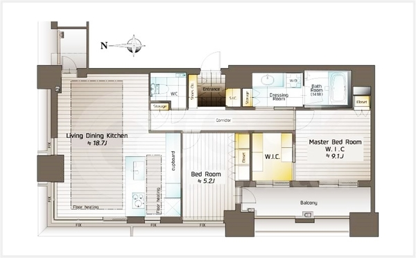 清水建設株式会社施工・総戸数105戸のタワーマンション