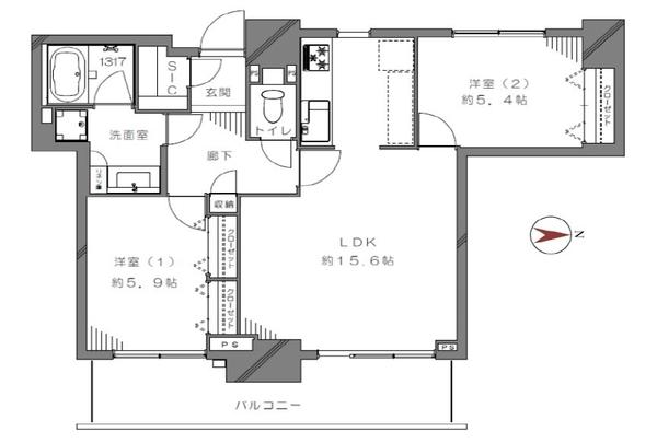 総戸数304戸の大規模タワーマンション・2駅利用可能・買い物施設至便