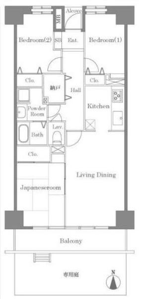 東建ニューハイツ元加賀の間取図/1F/3,900万円/3LDK/71.28 m²
