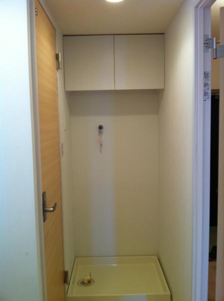 洗濯機置場(平成24年のリフォーム時の写真です)