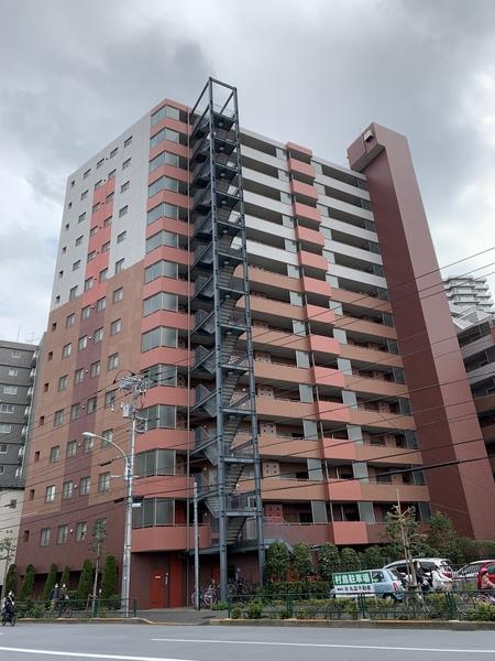 「外観」/「アクシアガーデン南砂」、総戸数106戸のビッグコミュニティ