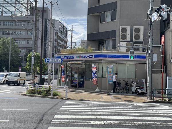 【コンビニ】「ローソンすみだ横綱店」