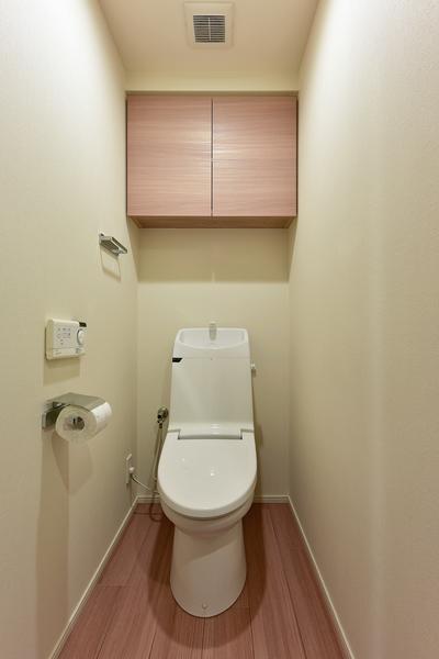 トイレ(上部吊り戸棚付)