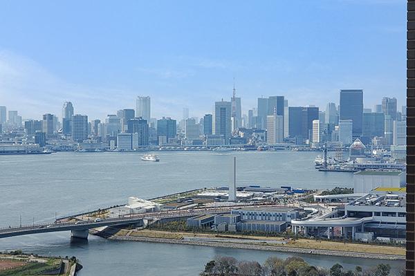 北西側眺望/豊洲新市場・都心方面を望めます。