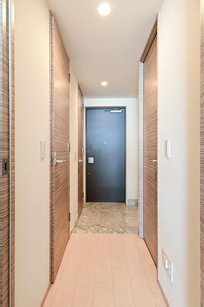 廊下・玄関 廊下部分が少ない機能的な間取です