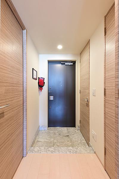 必要最低限の廊下スペースは居住スペースに配慮した設計でございます