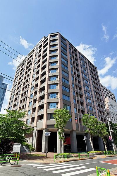 東京建物×NTT都市開発旧分譲【Brillia(ブリリア)】シリーズ。2013年1月築。