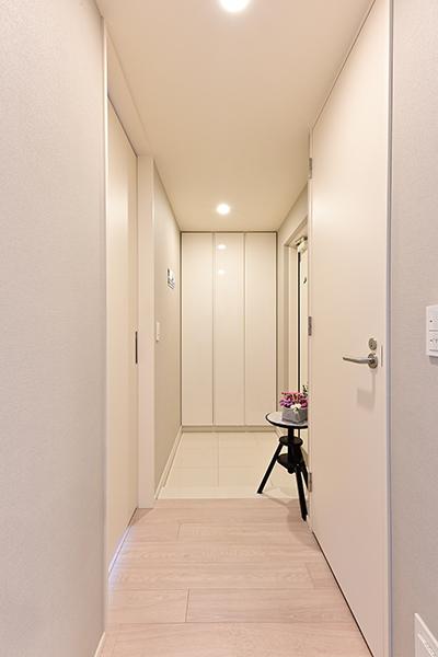 廊下部分が少ない機能的な間取でございます。