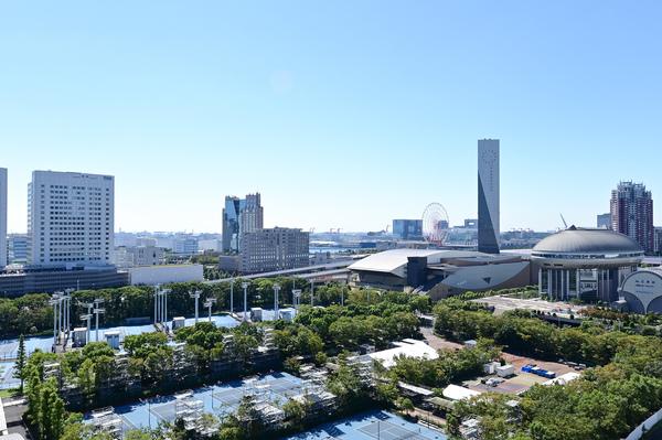 【眺望】南東向き(有明テニスの森方面)