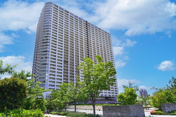 【外観写真(2021年9月撮影)】ブリリア有明スカイタワー。2010年12月築。