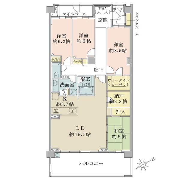 ヴェルデマーレ コスモ横濱汐見台D棟6階