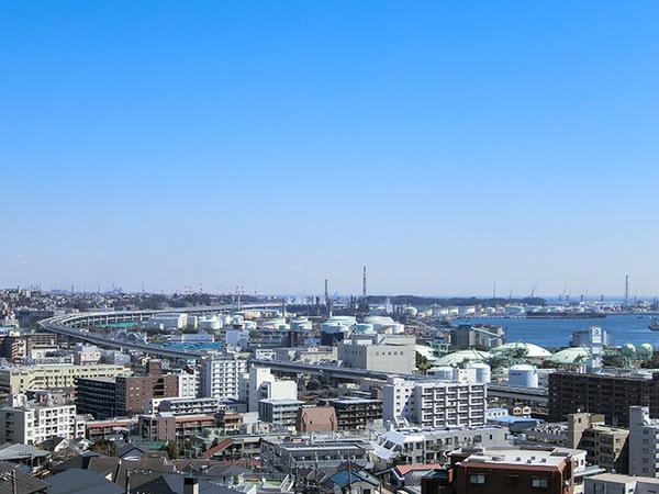 バルコニーからの眺望 海方面