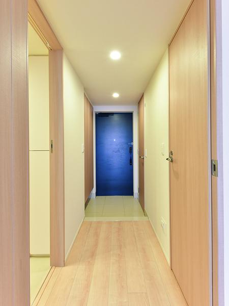 玄関~廊下 収納があり、すっきり片付きます