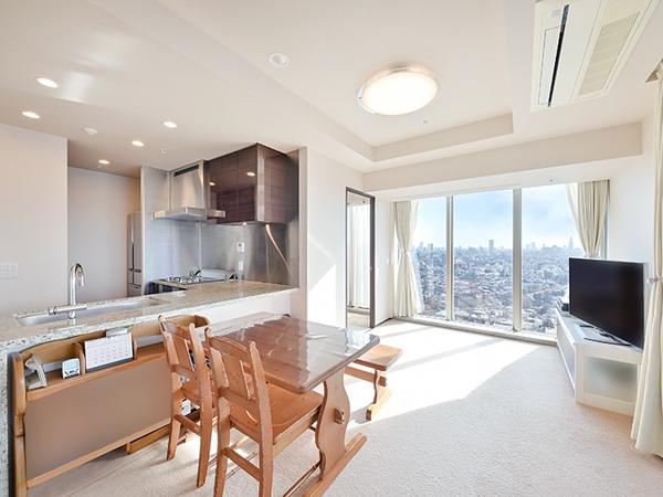 22階部分につき眺望が素晴らしいですね!