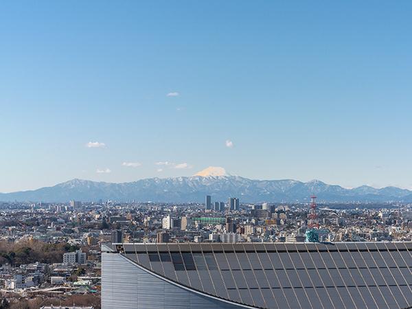 《眺望》丹沢、富士山、奥多摩方面の眺望