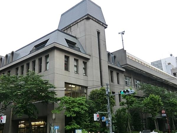 京橋築地小学校、約450m、徒歩6分