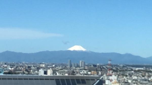 LDKより富士山が望めます。※気象状況によっては望めない場合があります。