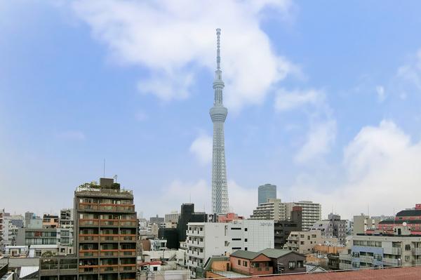 最上階につき東京スカイツリービューをお楽しみ頂ける他、花火大会も観賞できます。