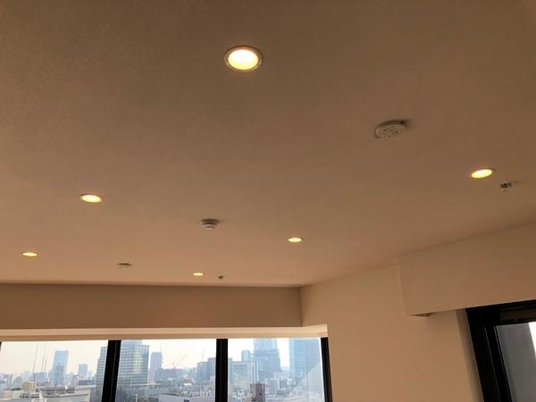 LEDダウンライト設置