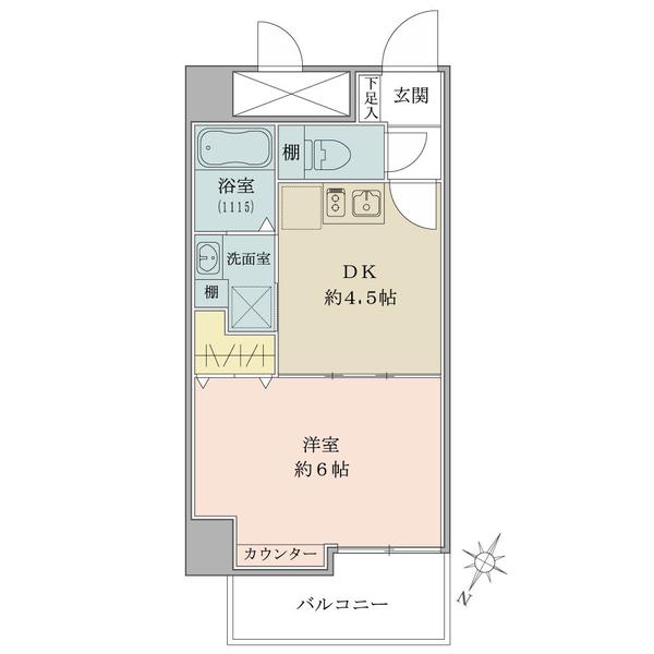 平成5年築、東京建物株式会社旧分譲の11階建マンション。商店街至近につき賑やかな街並みとなります。