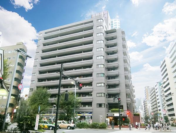 新宿エリアでありながら緑豊かなロケーションに程近い環境に立地。東京建物旧分譲の12階建レジデンス。