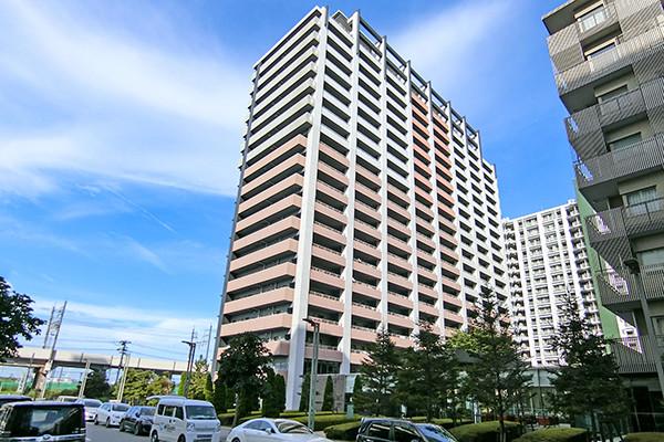 パティオスエリスト(ザ・タワー棟)/免震構造21階建て