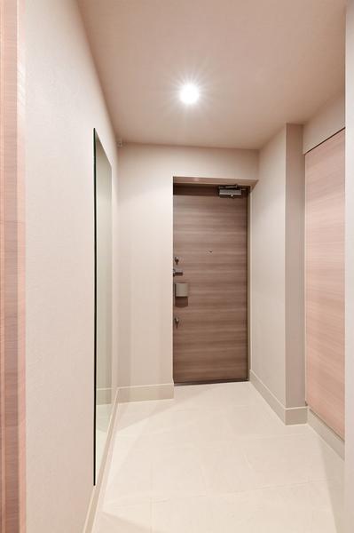 【玄関】のぞき見防止に、ドアスコープカバーを設置