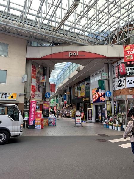 高円寺パル商店街の入り口