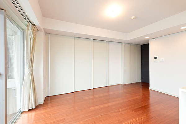 ライフスタイルや家族構成の変化によって、ドアの開閉による間取りの変更が可能です。